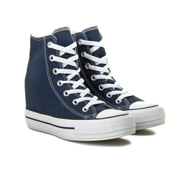 185eb72549a7 NWT Converse Chuck Taylor All Star Blue Wedges